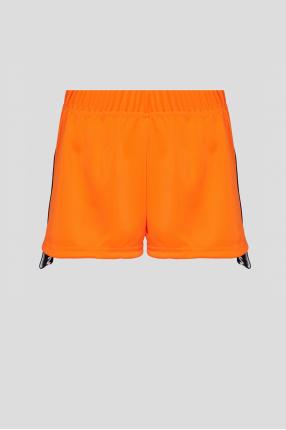 Женские оранжевые шорты