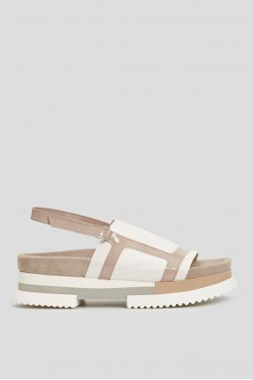 Жіночі замшеві сандалі