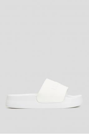 Жіночі білі слайдери