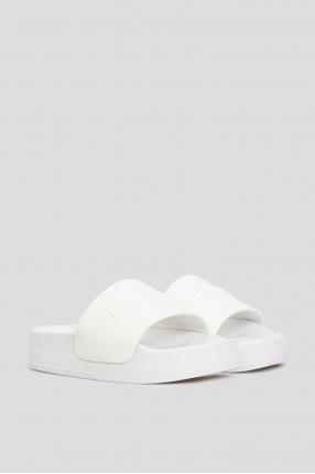 Жіночі білі слайдери 1