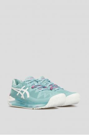 Женские голубые кроссовки Gel-Resolution 8 1
