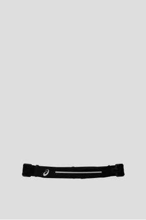 Чорна поясна сумка