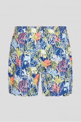 Чоловічі темно-сині плавальні шорти 1