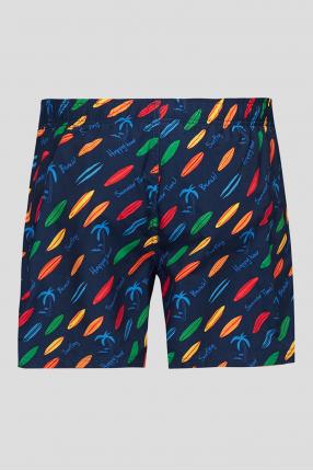 Мужские плавательные шорты с узором 1