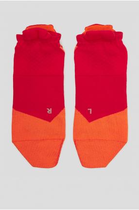 Женские малиновые носки для бега