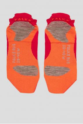 Жіночі малинові шкарпетки для бігу 1