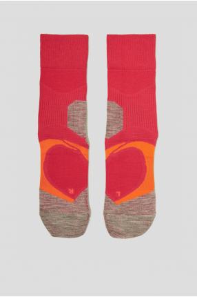Жіночі малинові шкарпетки для бігу