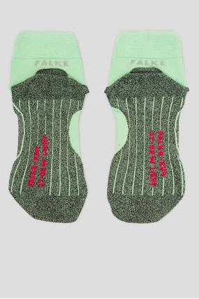 Жіночі м'ятні шкарпетки для бігу 1