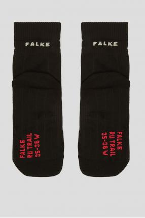 Женские черные носки для бега 1