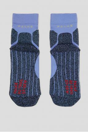 Женские сиреневые носки для бега 1