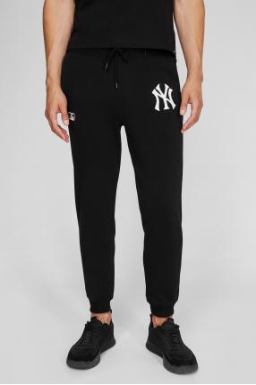 Мужские черные спортивные брюки 1