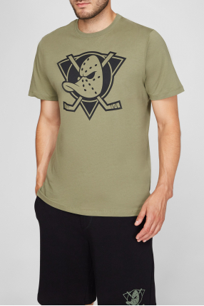 Мужская оливковая футболка 1