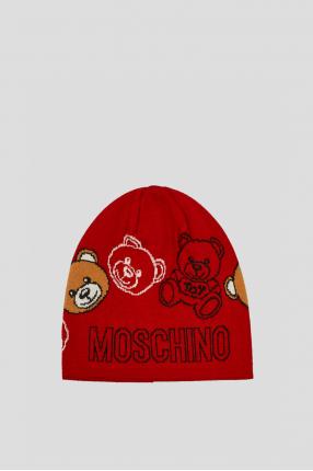 Жіноча червона шапка