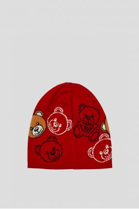 Жіноча червона шапка 1