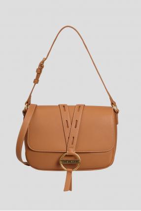 Жіноча коричнева сумка