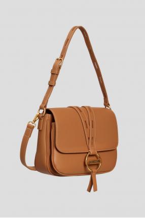 Жіноча коричнева сумка 1