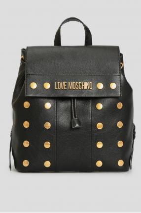 Жіночий чорний рюкзак