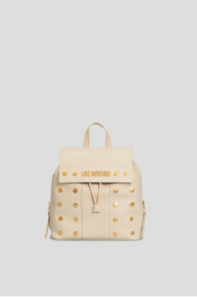 Жіночий білий рюкзак