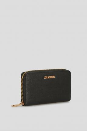 Женский черный кошелек 1