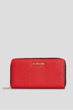 Жіночий червоний гаманець