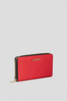 Жіночий червоний гаманець 1