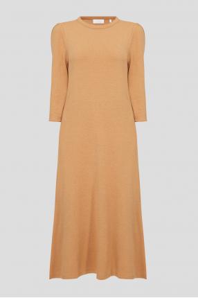 Жіноча гірчична сукня
