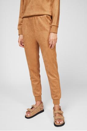 Жіночі гірчичні брюки 1