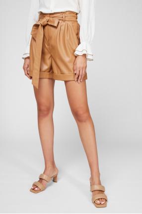 Женские коричневые шорты 1