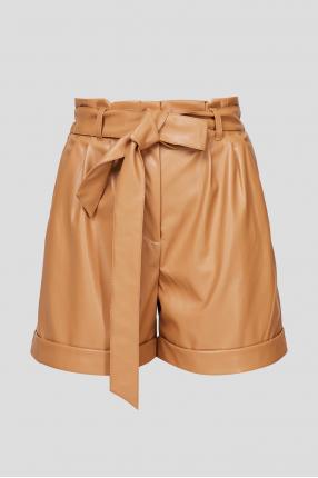 Женские коричневые шорты