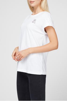 Женская белая футболка 1