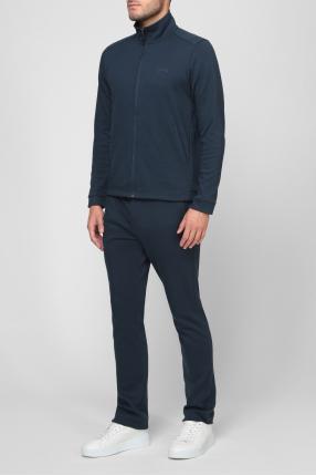 Мужской синий спортивный костюм (кофта, брюки) 1