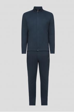 Мужской синий спортивный костюм (кофта, брюки)