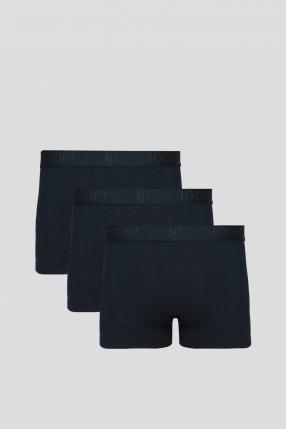 Чоловічі темно-сині боксери (3 шт) 1