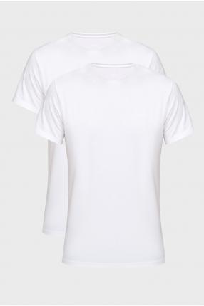 Чоловіча біла футболка (2 шт)