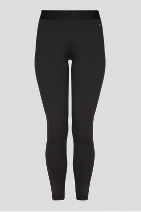 Жіночі чорні легінси