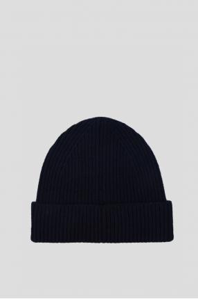 Женская темно-синяя шапка 1
