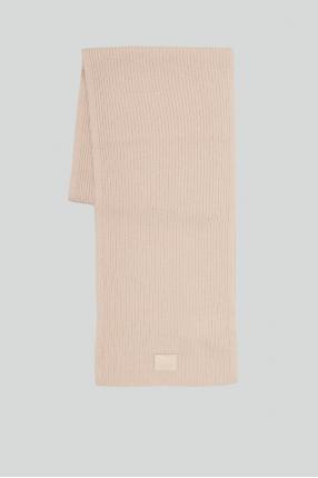 Женский бежевый шарф