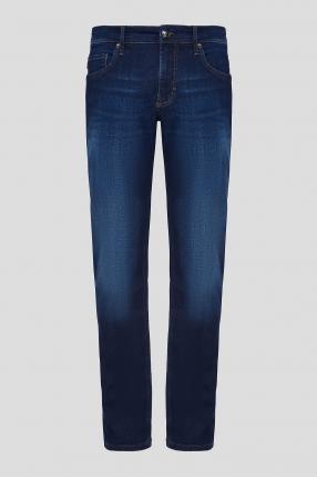 Чоловічі темно-сині джинси