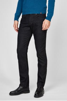 Чоловічі темно-сірі джинси 1