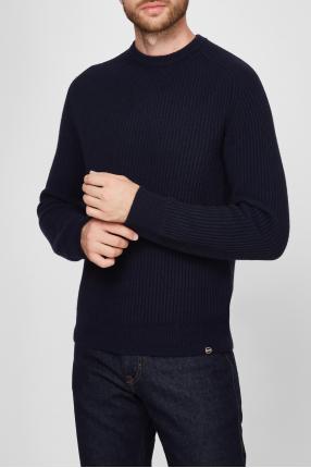 Мужской темно-синий свитер 1