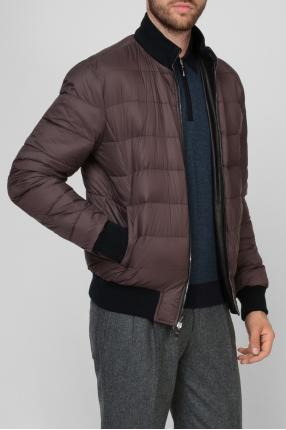 Мужская кожаная двусторонняя куртка 1