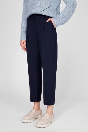 Жіночі темно-сині брюки 1