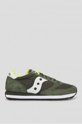 Оливкові кросівки