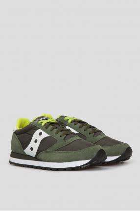 Оливкові кросівки 1