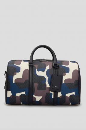 Мужская кожаная дорожная сумка