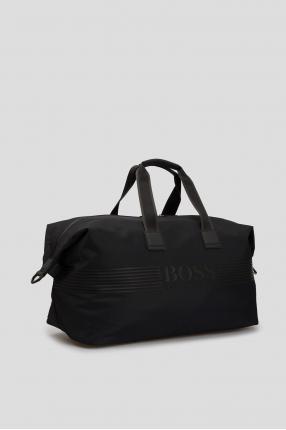 Мужская черная дорожная сумка 1