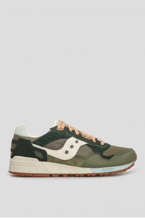 Зелені кросівки Saucony Shadow 5000