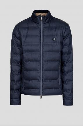 Чоловіча синя куртка