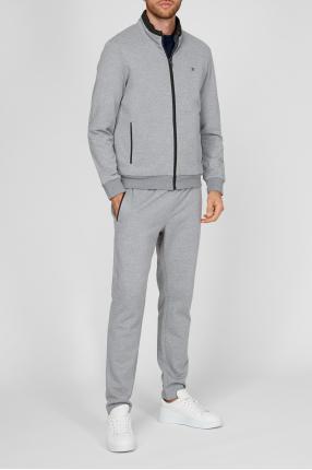 Чоловічий сірий спортивний костюм (кофта, штани) 1