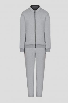 Чоловічий сірий спортивний костюм (кофта, штани)